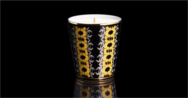 Bougie de luxe en Porcelaine de Limoges modèle Antique - Lorenza-difilippo.fr