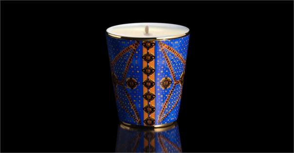 Pot à bougie pour une décoration de mariage modèle Les Mille et une nuits - Lorenza-difilippo.fr