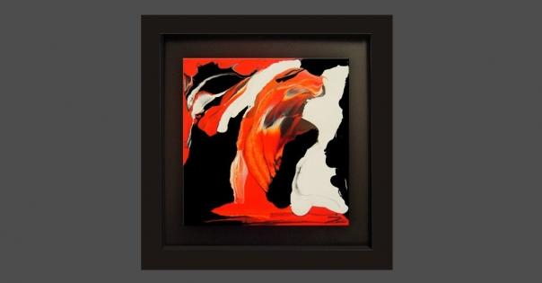 Tableau - Peinture contemporaine modèle Magdalena - Lorenza-difilippo.fr