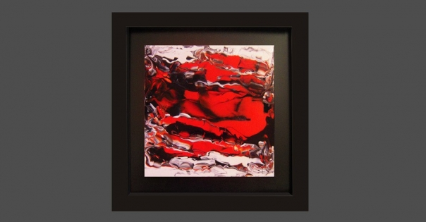 Tableau - Peinture contemporaine modèle Costa Blanca - Lorenza-difilippo.fr