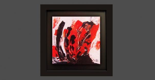 Tableau - Peinture contemporaine modèle Caliente - Lorenza-difilippo.fr