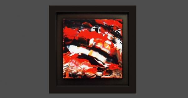 Tableau - Peinture contemporaine modèle Malaga - Lorenza-difilippo.fr