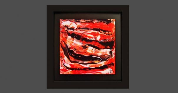 Tableau - Peinture contemporaine modèle Serena - Lorenza-difilippo.fr