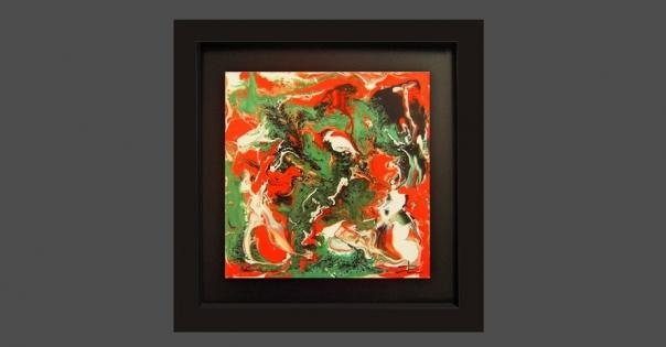 Tableau - Peinture contemporaine modèle Marbella - Lorenza-difilippo.fr