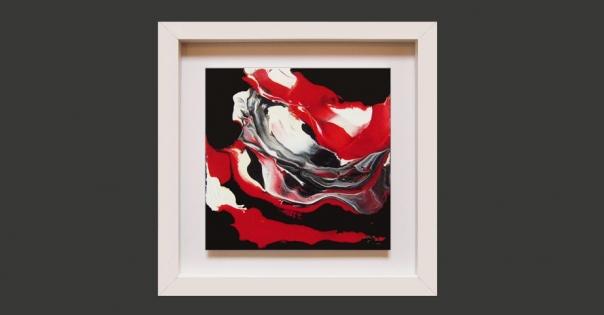 Tableau - Peinture contemporaine modèle Energie - Lorenza-difilippo.fr
