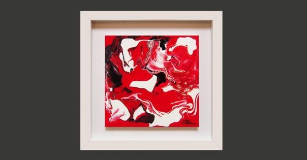 Tableau - Peinture contemporaine modèle Melissa - Lorenza-difilippo.fr