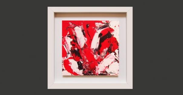 Tableau - Peinture contemporaine modèle Passion - Lorenza-difilippo.fr