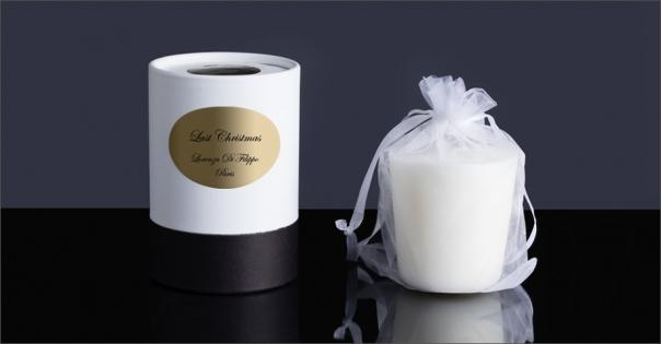Bougie parfumée Last Christmas - Lorenza-difilippo.fr